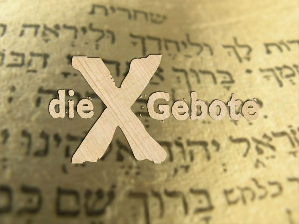 Zehn Gebote: Du sollst Gott allein ehren Image